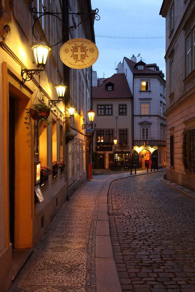 Streets mature czech Mature