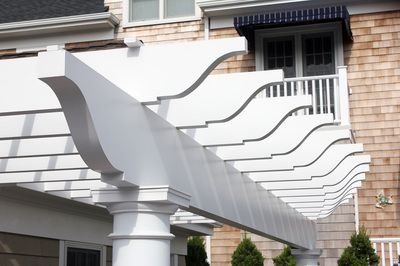 18 Best Custom Pvc Exterior Millwork Images On Pinterest Exterior Beach Front Homes And Beach