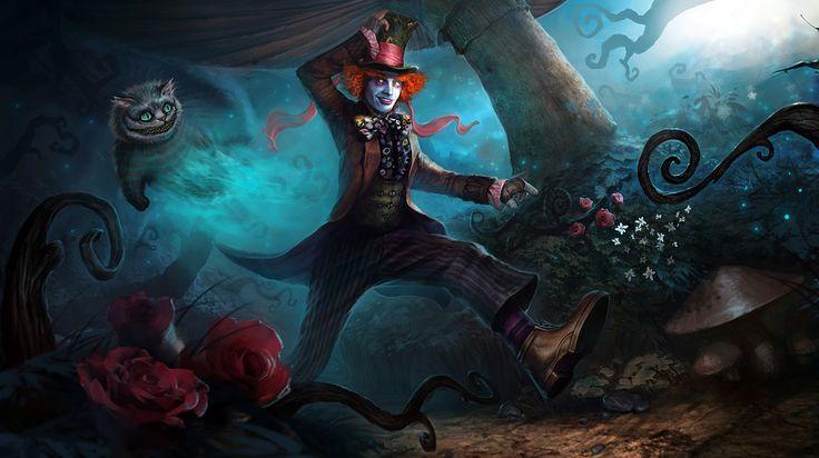 Me in Wonderland by 88grzes.deviantart.com
