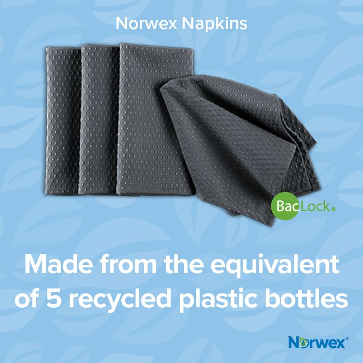 Clean up the world each time you clean your hands w/ our NEW Norwex Napkins made from recycled materials #Norwex2017