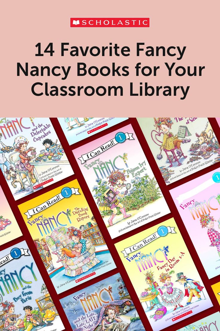 14 favorite fancy nancy books for your classroom library