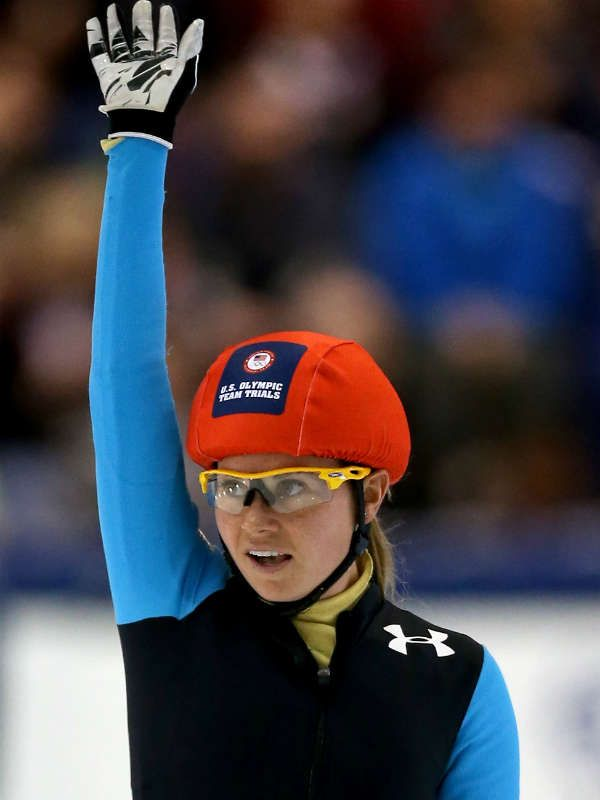 Jessica Smith, Short Track Speedskating. Smith missed being on the 2010 team by one spot, but she nailed her trials this year to qualify in three events — the 500-, 1,000-, and 1,500-meter races.