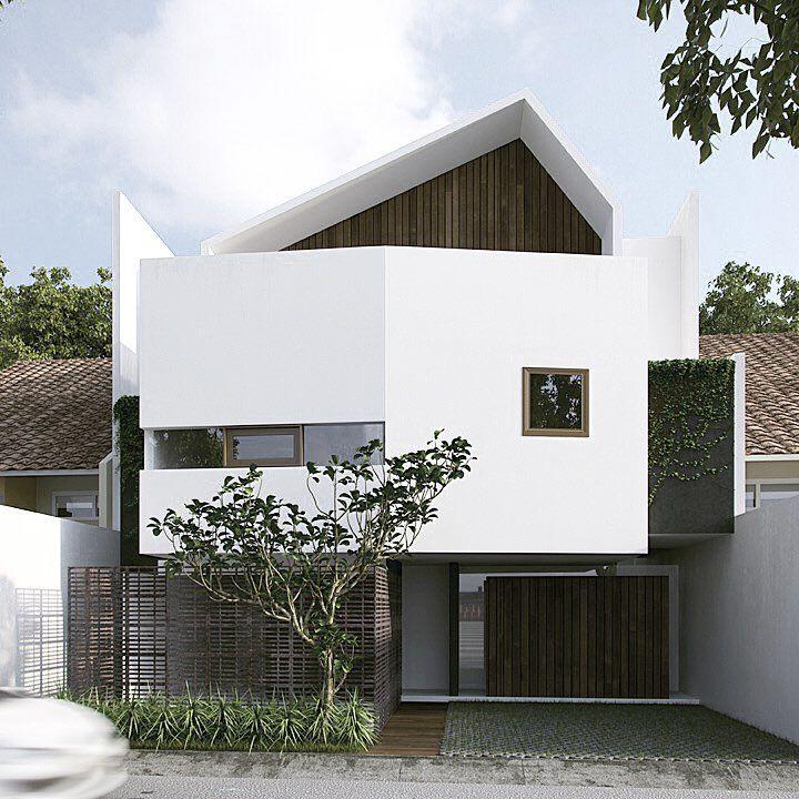 Facade House House Facades House Exteriors Tropical