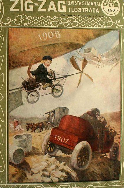 Portada revista Zig Zag 1908   Flickr: Intercambio de fotos
