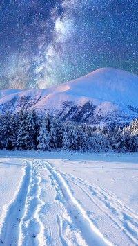 Droga mleczna zimą