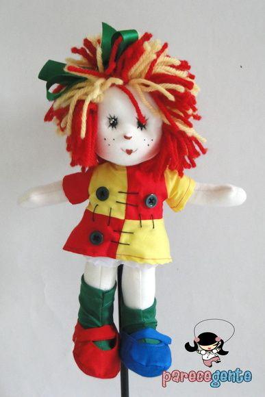 Boneca Emília 30 Cm                                                                                                                                                                                 Mais