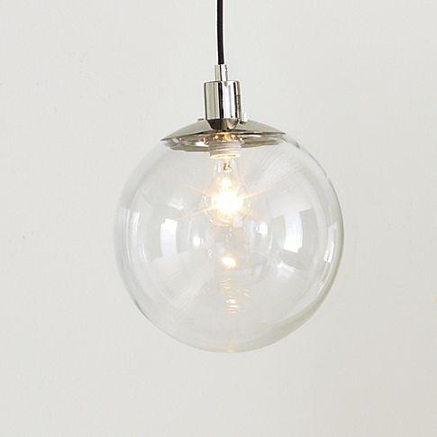 west elmPendants Lamps, Dining Room, Kitchens Tables, Kitchens Lights, Kitchens Islands, Pendant Lights, Pendants Lights, West Elm, Globes Pendants