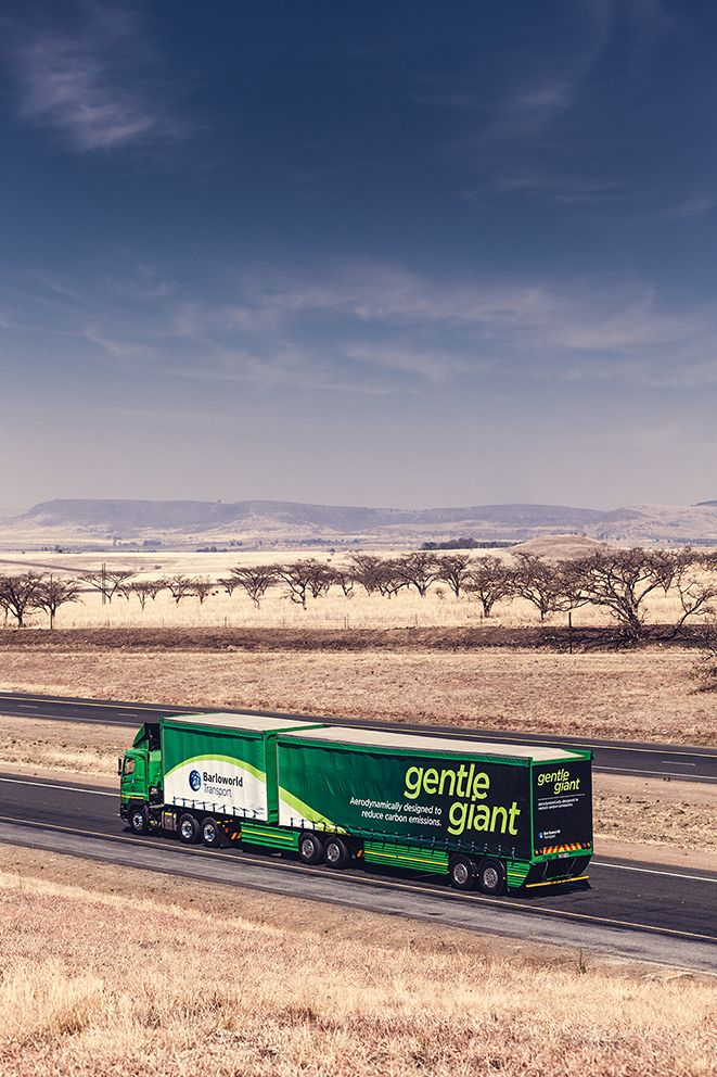 Gentle Giant - Aerodynamically designed to reduce carbon emissions #trucks