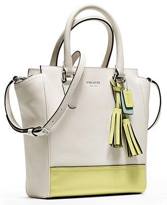 COACH LEGACY COLORBLOCK LEATHER MINI TANNER - COACH - Handbags \u0026  Accessories - Macy\u0027s. Burberry HandbagsCoach HandbagsMichael Kors ...