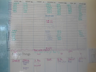 How to make a large daily organizer | ButISawItOnPinterest.Blogspot.ca