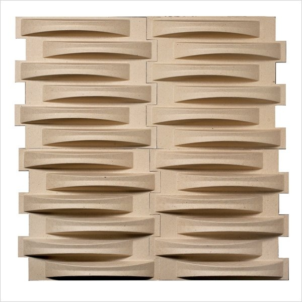 Sound diffusing 3D wall tiles! $3 per sqr. ft. ($34=12 sqr. ft)! This would be awesome for a music room!