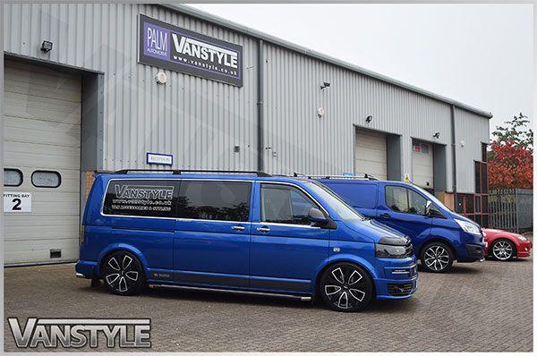 Door Handle Cover Set Stainless Steel - VW T5 T6 Caddy - Vanstyle