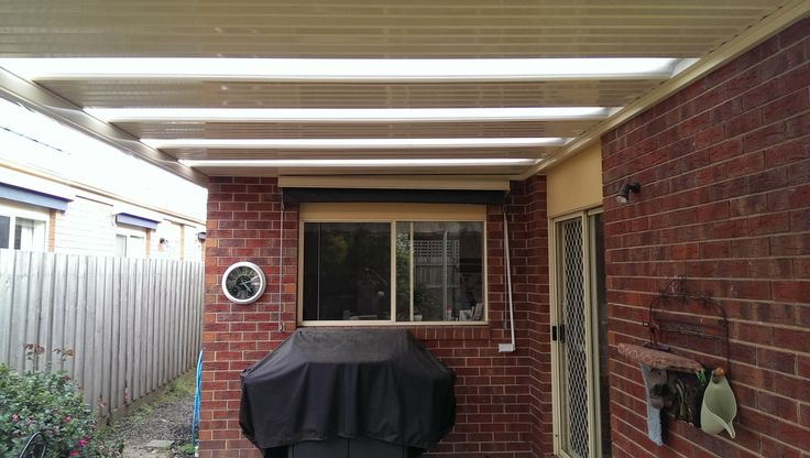 New Stratco Flat Outback Roofing