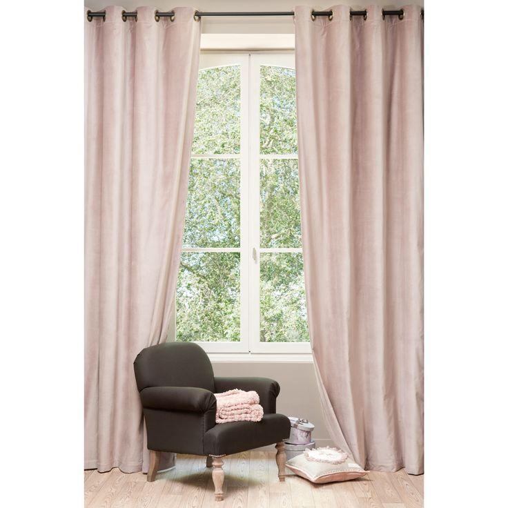 les 17 meilleures id es de la cat gorie rideaux en velours. Black Bedroom Furniture Sets. Home Design Ideas
