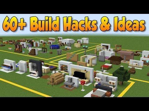 60+ MINECRAFT BUILD HACKS AND IDEAS | Minecraft Houses | Pinterest ...