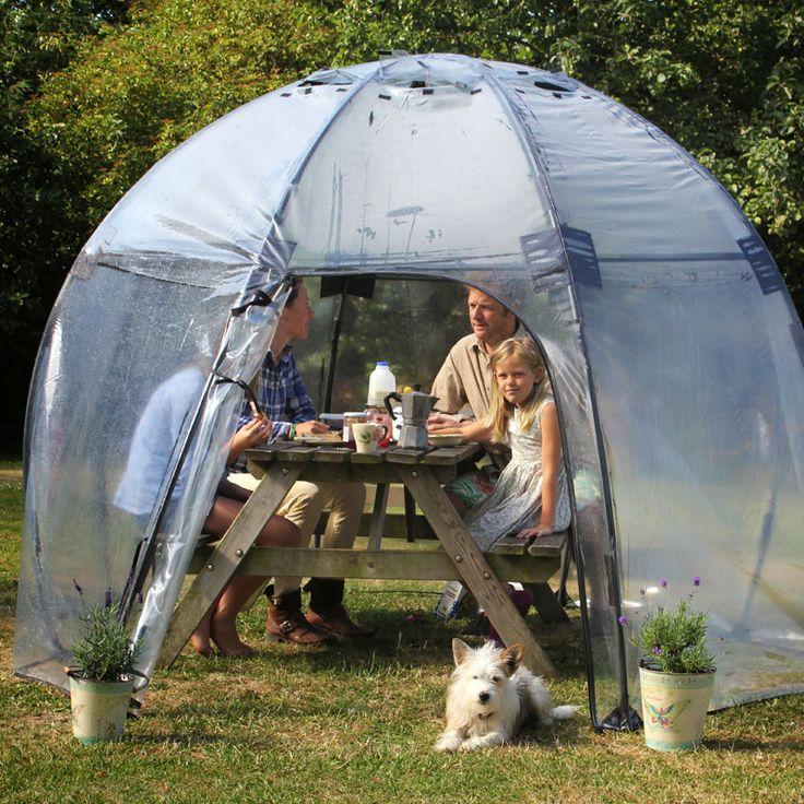 Sunbubble uppfällbart växthus för odling #Sunbubble #Standard