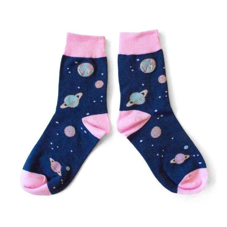 Galaxy Space Socks