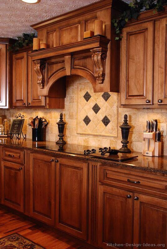 Tuscan style kitchen