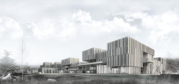 1st Prize I Balikesir City Hall  w / Buda Architects