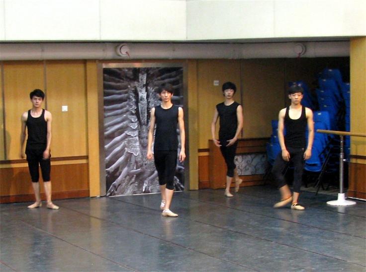 My Dream rehearsal, Beijing, China. By Michael Crabb.