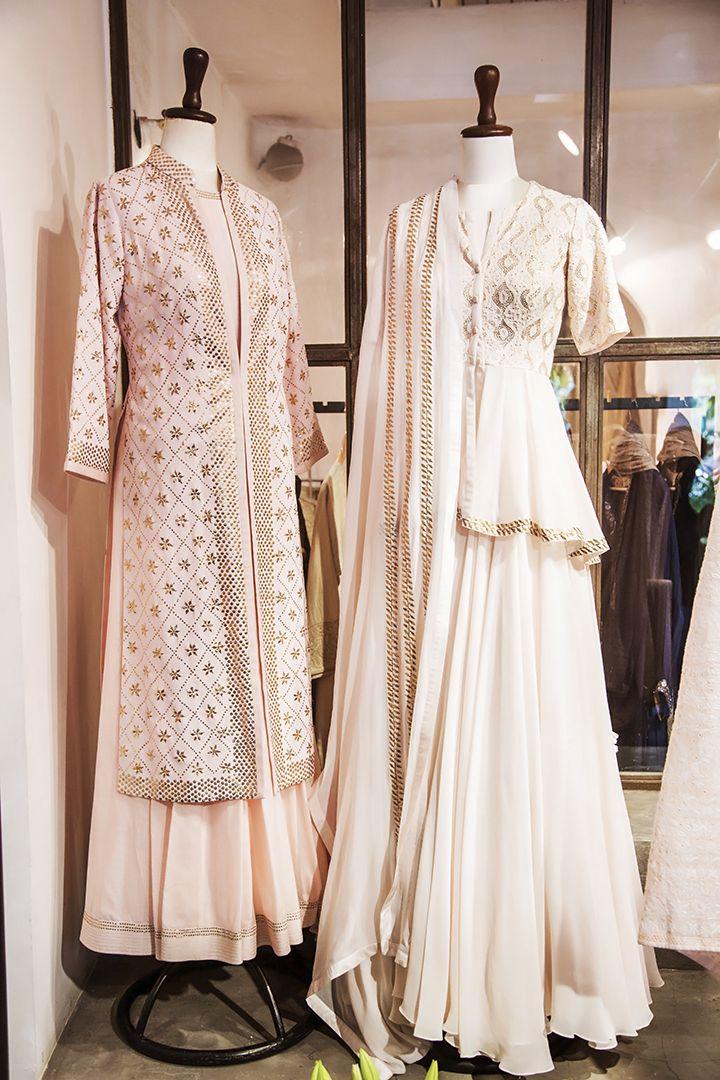 e60f847a47 Shop exquisite chikankari & mukaish from Anjul Bhandari at Ogaan | Ogaan in  2019 | Indian designer wear, Lehnga dress, Kurta designs women