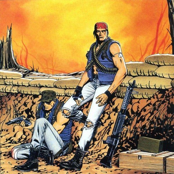 Clark and Ralf by Shinkiro- Metal Slug/ King of Fighters
