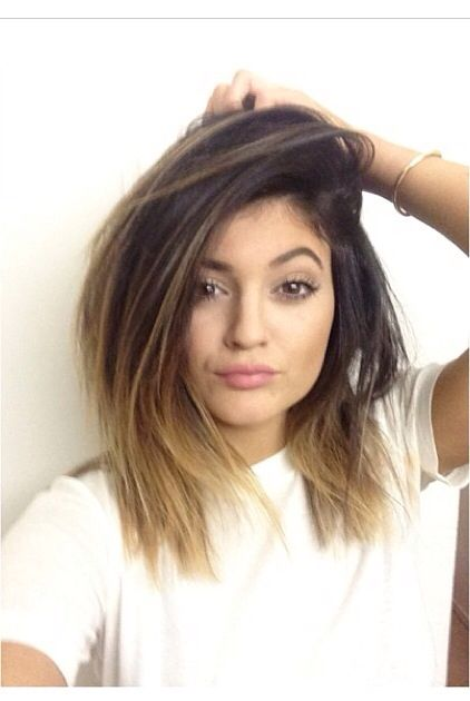 Kylie Jenner Haircut and color maybe I cut it all off like this