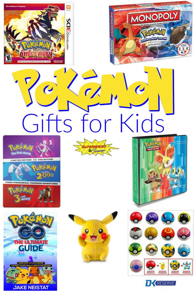 Pokemon Gifts for Kids                                                                                                                                                                                 More