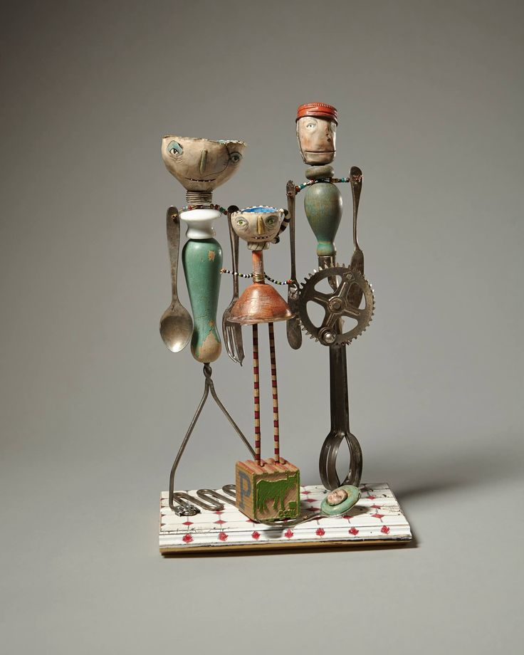 871 Best Assemblage And Found Art Sculpture Images On