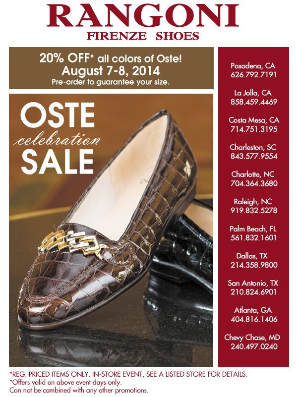 Oste celebration sale is coming!! Pre-order now