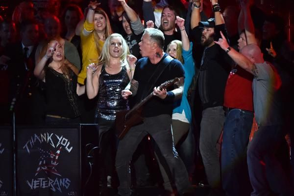 Metallica frontman James Hetfield donated more than 1,000 acres in Northern California's Marin County to a local land trust.