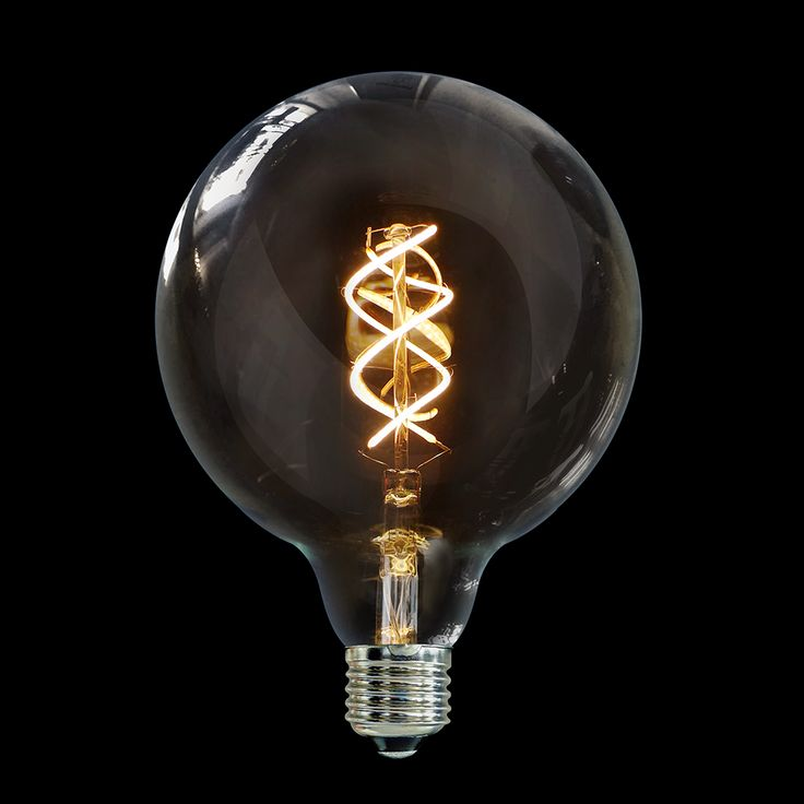 LiquidLEDs 5 Watt Vintage G125 Spiral LED Filament Bulb features an elegant vintage Large Globe design but packing cutting-edge LED Technology. The result is a modern light bulb that brings back the nostalgia of the early incandescent lamps of the Gilded Age. This LiquidLEDs Vintage bulb has a patented Spiral filament that enhances the bulb's nostalgic look, evoking the hand-wound, spiral carbon filaments of the late Victorian era and the tungsten filaments of the early 20th-century.
