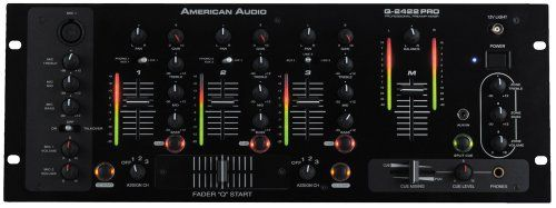 American Audio Q2422 Pro 3 Channel Pro Dj Mixer  http://www.instrumentssale.com/american-audio-q2422-pro-3-channel-pro-dj-mixer/