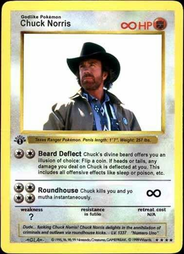 The most powerful Pokemon card ever! Lol