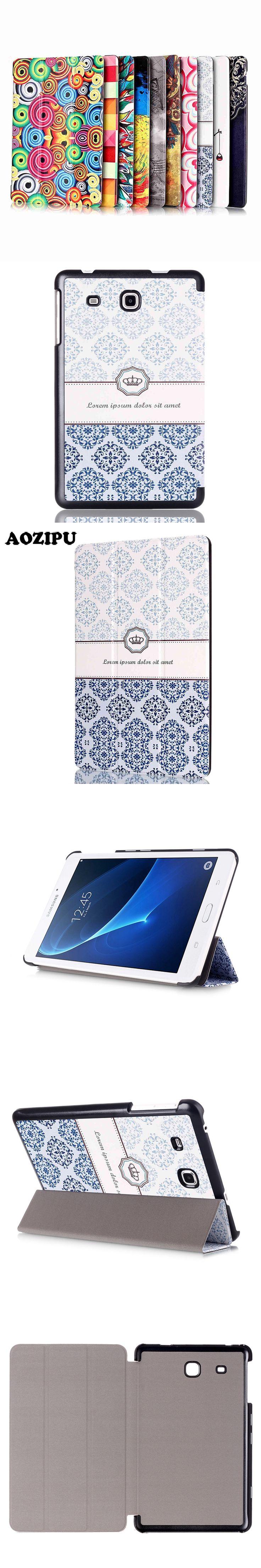 Magnet Funda Case for Samsung Galaxy TAB A 7 0 T280 T285 7 inch Tablet Fashion Print