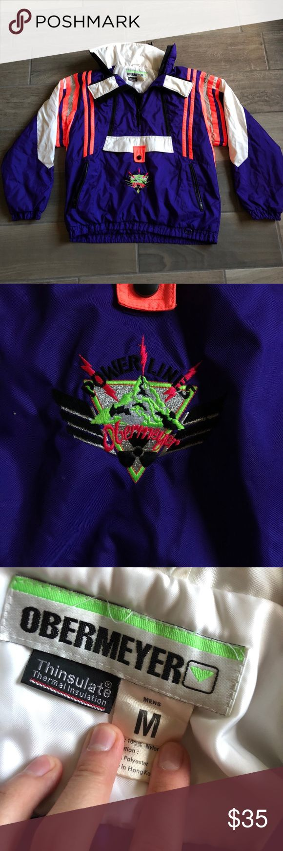 Vintage Obermeyer Powerlines Ski Snow Jacket Vintage Obermeyer Powerlines Ski Snow Jacket Size M 🏂❄️  Pre Owned 8/10 Condition  No Returns   Only Shipping to the USA 🇺🇸  Comment for offers or more info about this item 😁  #depop #depopfamous #Obermeyer #Ski #coat #Vintage #jacket #snow #powerlines #purple #snowboard #winter @depop Obermeyer Jackets & Coats Ski & Snowboard
