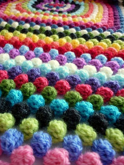 Granny Bobble Blanket ☺ Free Crochet Pattern ☺