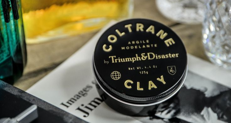 Triumph & Disaster Coltrane Clay Utilizing White Clay and Beeswax mixed with Pracaxi oil and a splash of Brazil wax this medium hold clay is designed to create the perfect hold for those who want a matte, firm, healthy wave that is flexible enough to mould your own way, but strong enough to keep it that way. $45