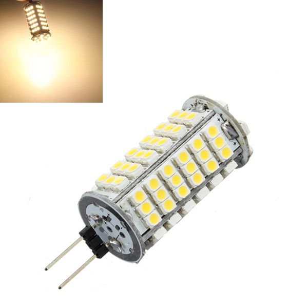 G4 6w Warm White 510lm 102 Smd 3528 Led Lights Bulb Dc 12v Led Light Bulb Bulb Light Bulb