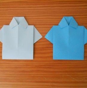 Une chemise en origami pour la fête des pères - Sorties et activités - Pure Famille