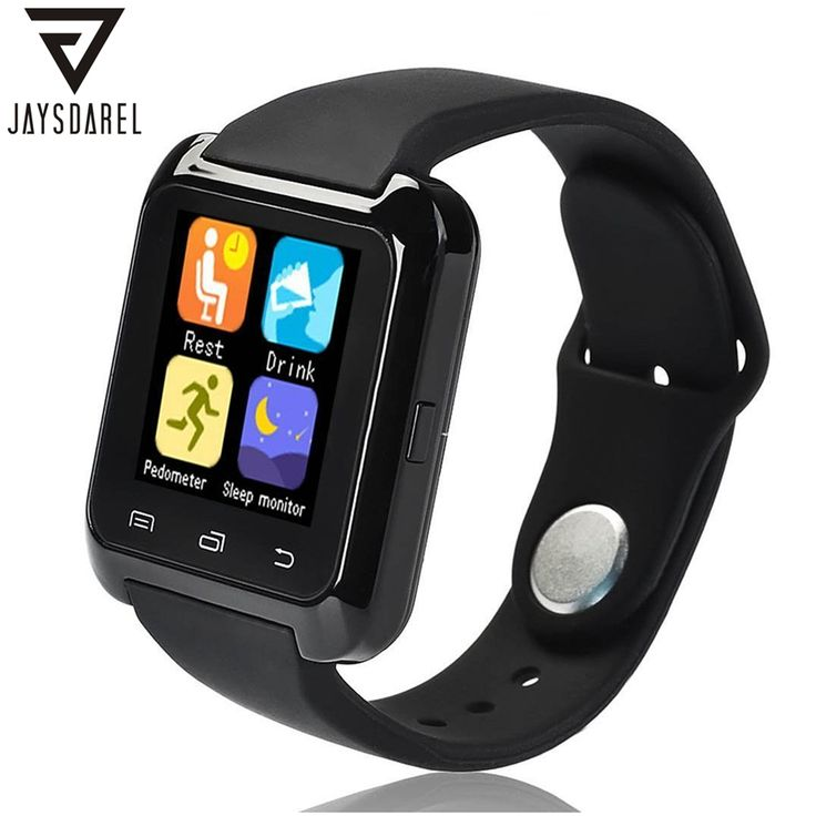 https://www.i-sabuy.com/ JAYSDAREL U80บลูทูธสมาร์ทดูกีฬาออกกำลังกายสร้อยข้อมือสวมใส่อุปกรณ์ 1.44นิ้วSmartwachสำหรับA Ndroid iOS PK U8 GT08 DZ09
