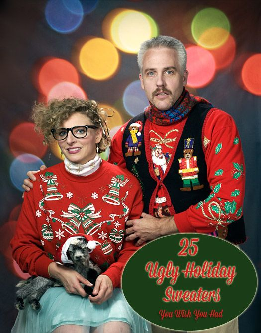 25 Ugly Christmas Sweaters You Wish You Had. Also, you are So welcome as this is amazing.