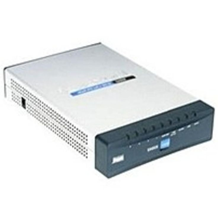 NOB Cisco RV042 4-Port 10-100 VPN Router - External - Wired