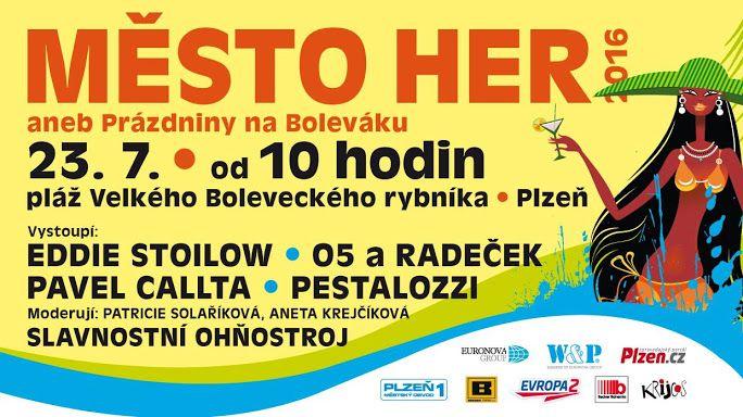 Město her aneb Prázdniny na Boleváku 2016 Tisíce lidí, kvalitní hudba i další doprovodné akce.  http://plzen.cz/mesto-her-aneb-prazdniny-na-bolevaku-2016-39796/  #Prázdniny #na #Boleváku