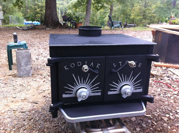 Early Seventies Kodiak Stove Insert That I Modified Into A