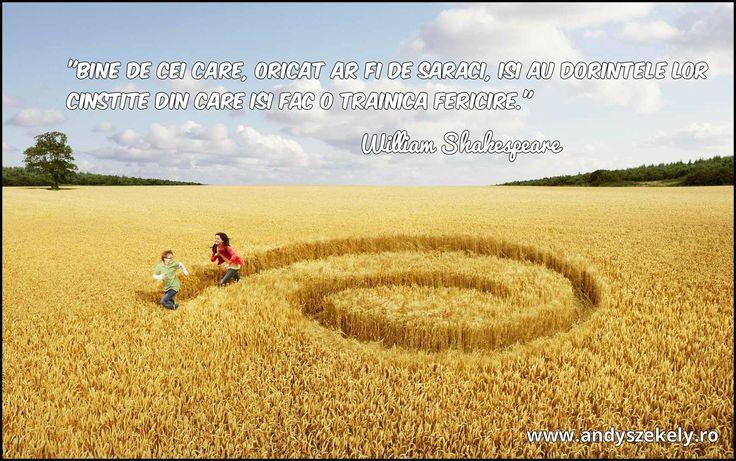 citat despre fericire william shakespeare