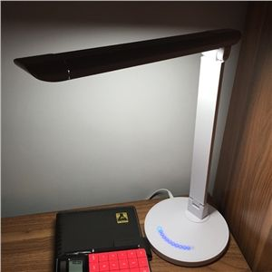 Cool Modern Simple High strength ABS Aluminum Alloy Material Black White Folding LED Table
