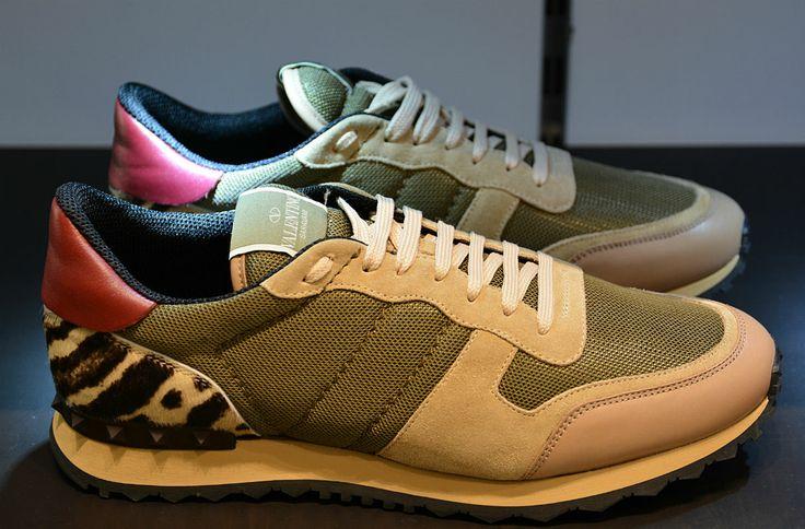 Chaussures de sport - Valentino Garavani Rockrunner Camouflage sneaker