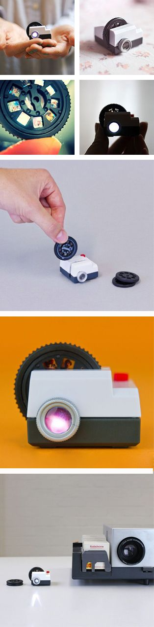 A tiny Instagram projector!