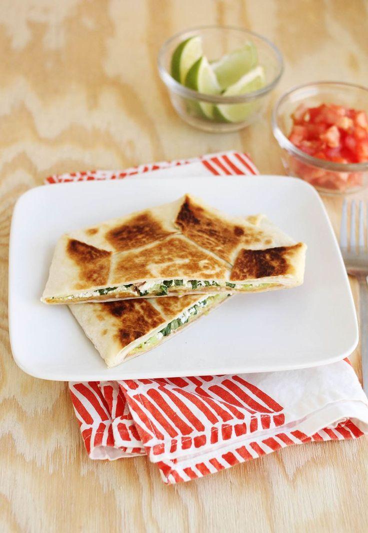 Vegetarian Crunch Wrap Supreme - A BEAUTIFUL MESS